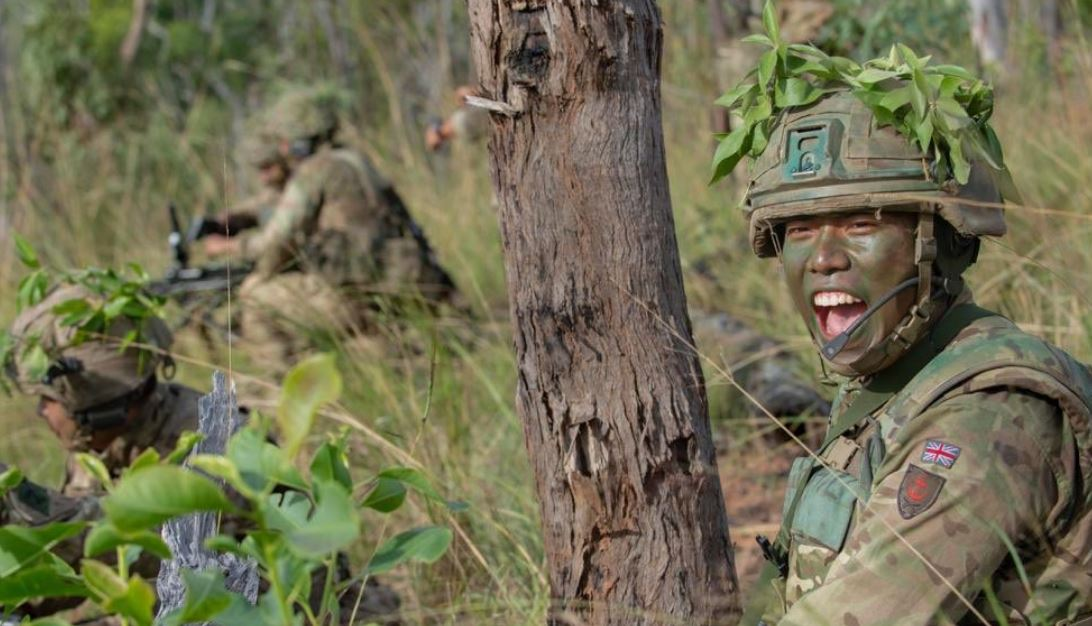 Gurkhas on Exercise in Australia | Welcome to the Gurkha