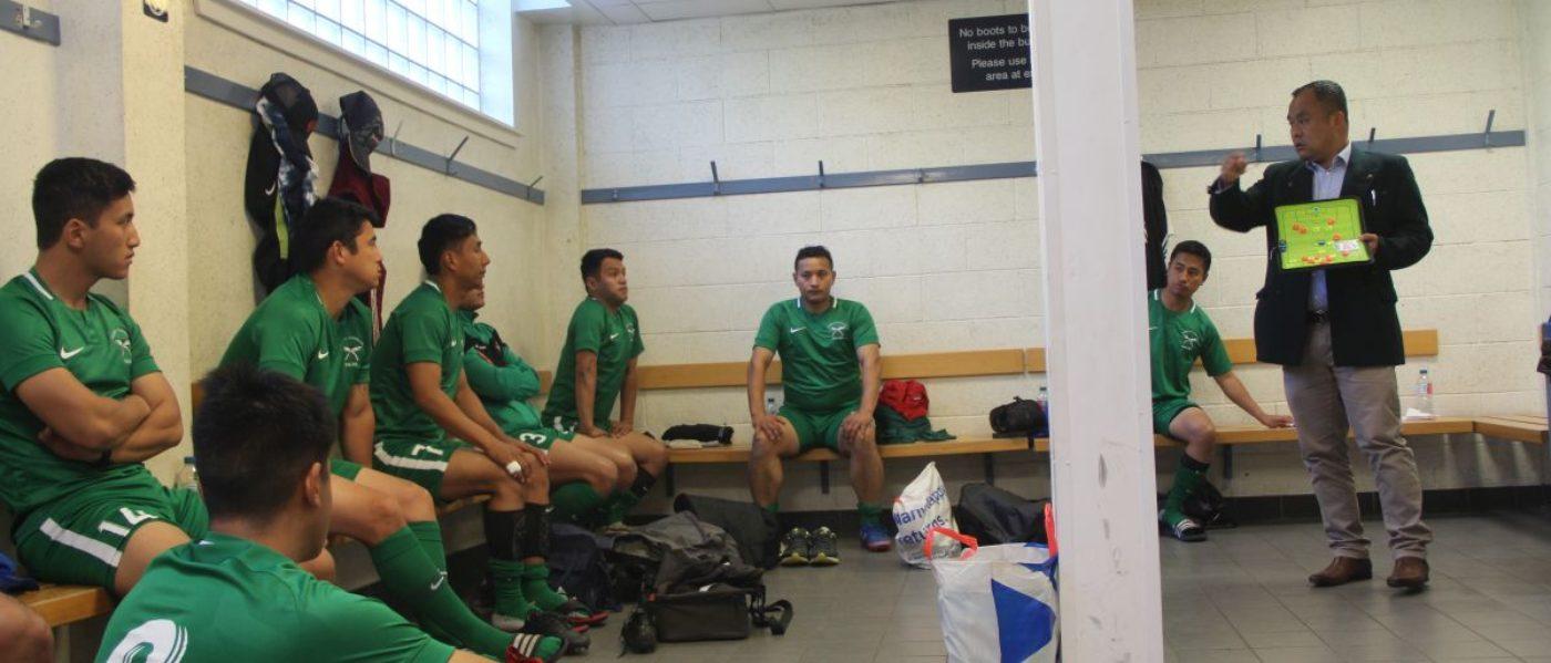 Brigade of Gurkhas Football Team at Glasgow