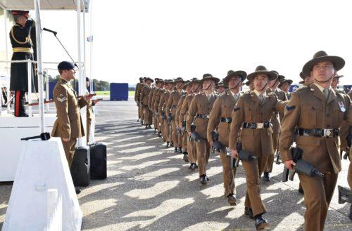 Re-designation parade in Abingdon