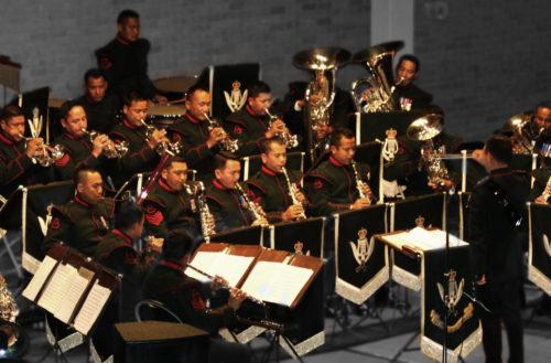Gurkha Band in concert Darlington