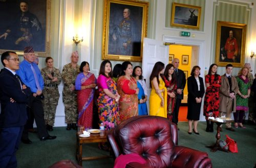 Headquarters celebrate Dashain and Tihar