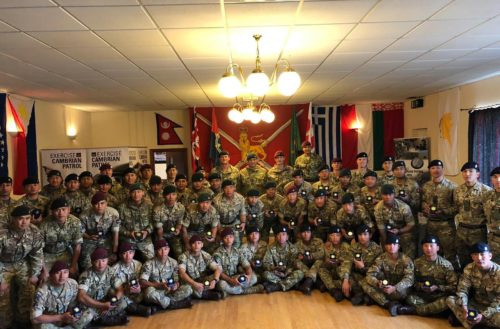Brigade of Gurkhas Cambrian Patrol teams