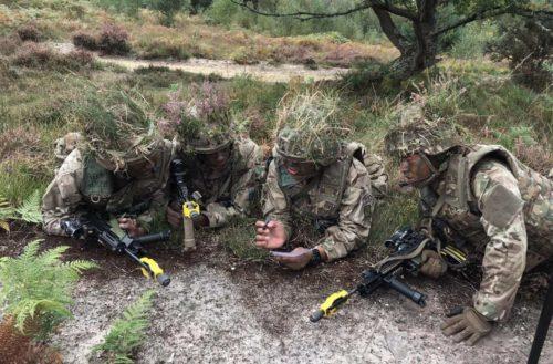 Cadre at the Queen's Own Gurkha Logistic Regiment