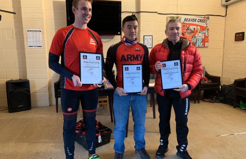 The Queen's Gurkha Engineers Army Cyclocross Championships & Inter Service Race 2020.