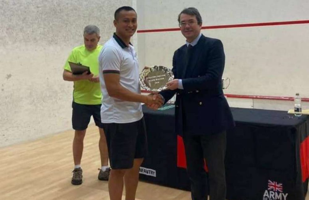 The Infantry Inter unit/division Squash Championship