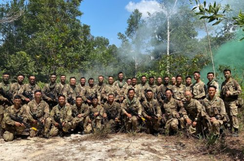 The Second Battalion, The Royal Gurkha Rifles collective training exercise