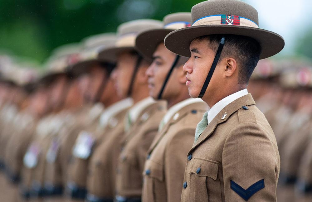Queens Gurkha Signals