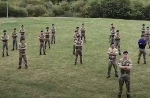 Queen's Gurkha Signals training under lockdown