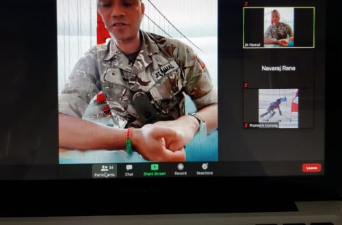 G1 Brief to Gurkha Company Tavoleto members including families