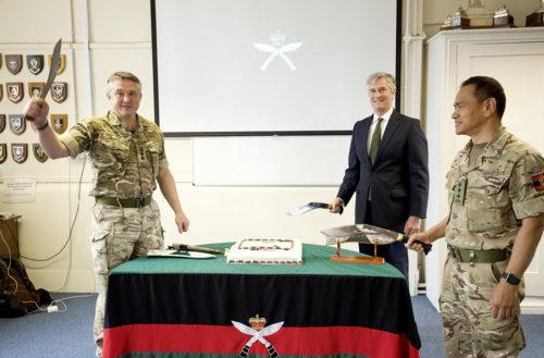 The Royal Gurkha Rifles 26th Birthday celebrations by video call