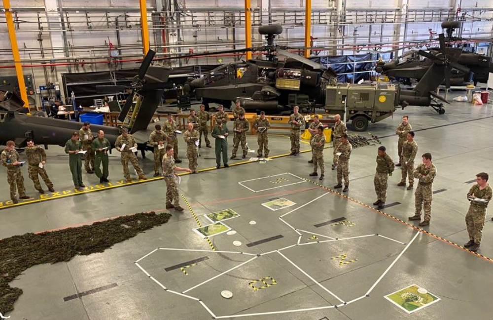 Exercise AQUILAS STRIKE: First Experience of Air Assault