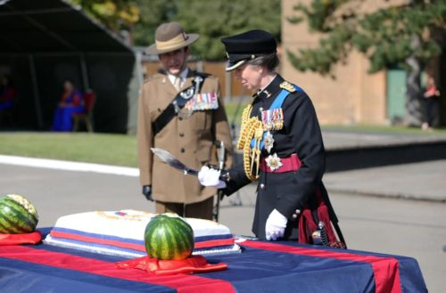 71st Birthday for the Queen's Gurkha Signals - HRH The Princess Royal