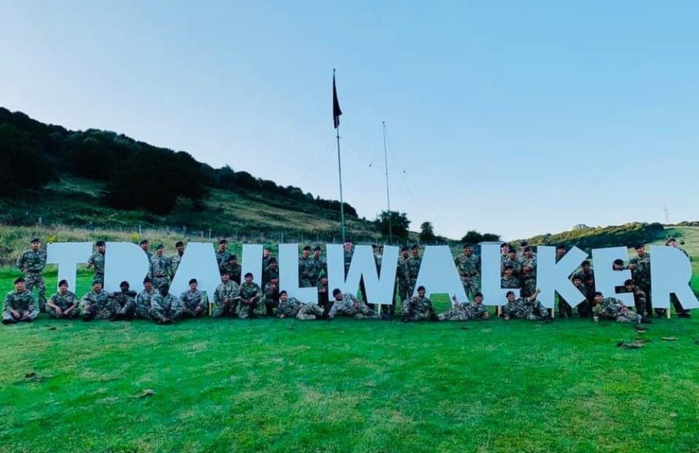 248 Gurkha Signal Squadron complete Trailwalker 2020