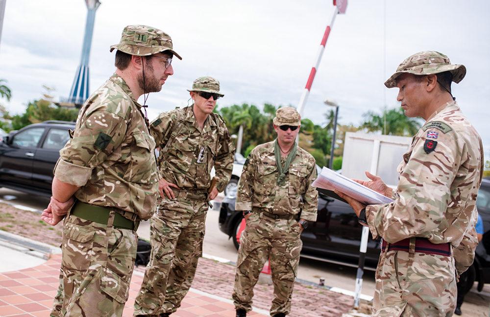 UK HC to Brunei visit to BFB