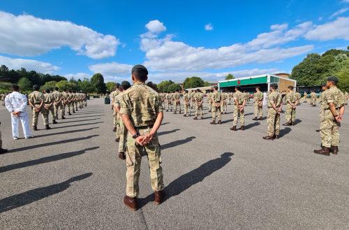 Gurkha Company Catterick Capbadging Sep 20