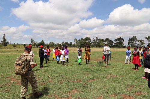 Community Engagement Project in Kenya with 1 RGR