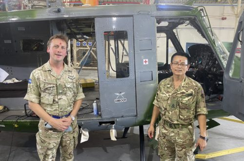 2 RGR - 7 Flight Army Air Corps rename helicopters