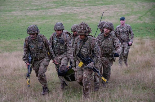 Developing new skills with the Specialised Infantry Cadre - 3 RGR