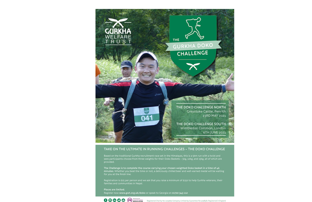 Doko Challenge: Race against the Gurkhas in 2021