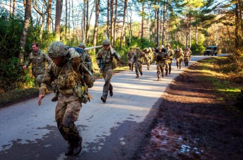 Final Exercise for Queen's Gurkha Engineers from Recruit Intake 21