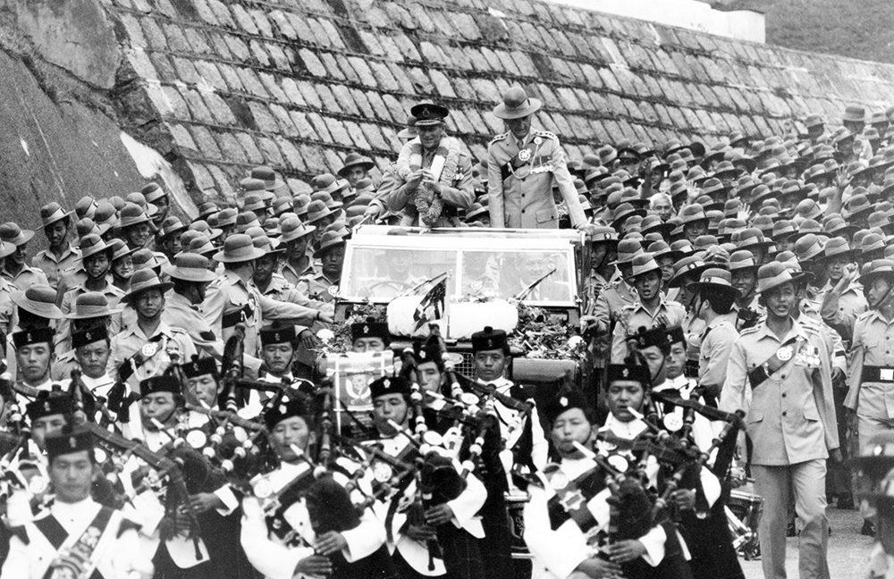 The Brigade of Gurkhas and HRH Prince Philip, Duke of Edinburgh