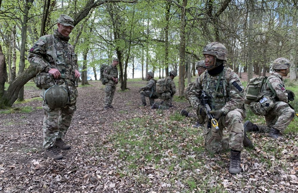 Exercise CHADKE SECTION 21 – Soldiering Skills Competition