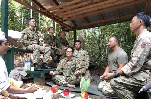 Jungle Base Camp JEANE - Jungle Warfare Division Brunei