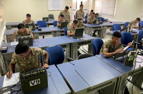 Infantry Platoon Radio Operator Cadre