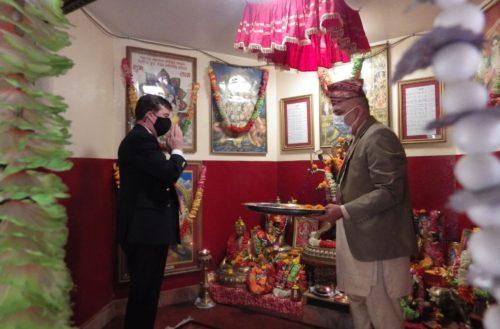 British Gurkhas Nepal Bids Farewell to Commander Colonel Goodman