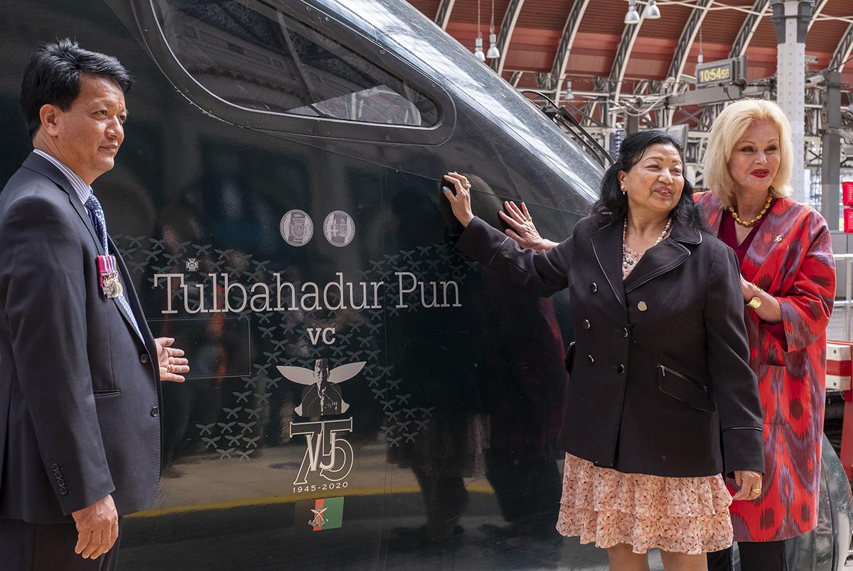Great Western Railway names a train in honour of Tulbahadur Pun VC |  Welcome to the Gurkha Brigade Association