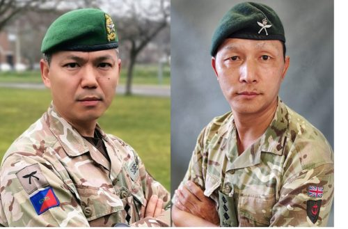 New Queen's Gurkha Orderly Officers appointed by Her Majesty The Queen