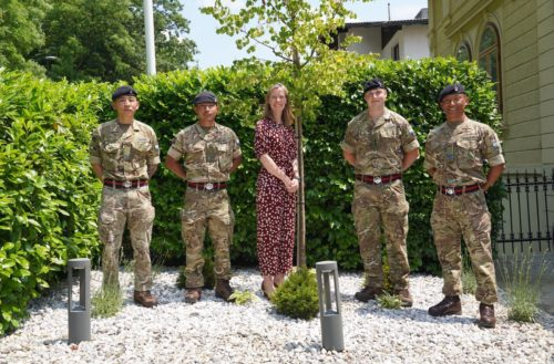 An invite to the British Ambassador's Residence, Slovenia - 247 Gurkha Signal Squadron
