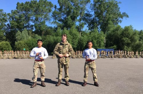 Congratulations to Lance Corporal Binod Gurung and Lance Corporal Sanam Kumar from Queen's Own Gurkha Logistic Regiment for winning gold medal in the Army Power lifting competition in their respective weight categories.