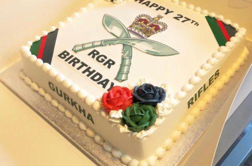 Happy Birthday to The Royal Gurkha Rifles