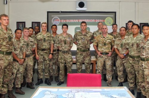 The Second Battalion, The Royal Gurkha Rifles completed Exercise SUMAN WARRIOR 21 on Wednesday 14th July 2021.