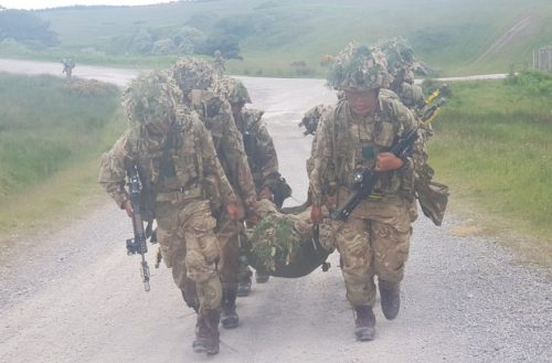 Update from our trainees at Gurkha Company Catterick