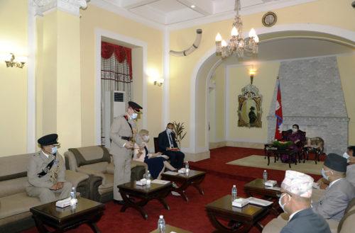 Nepal President's report Brigade of Gurkhas