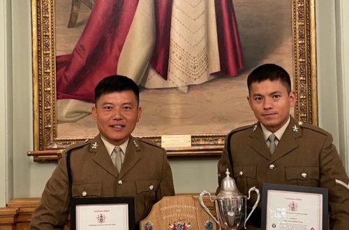 Congratulations to Lance Corporal Mahesh Gurung and Sapper Bir Rai on their recent awards