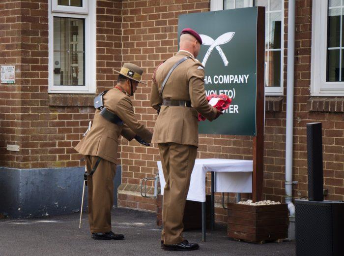 Tavoleto Battle Honour Day - Gurkha Company (Tavoleto)