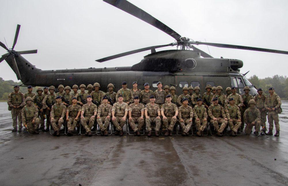 Queen's Own Gurkha Logistic Regiment hosts Commander 101 Logistic Brigade