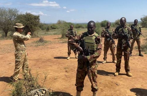 Dismounted Close Combat lessons to the Kenyan Defence Force
