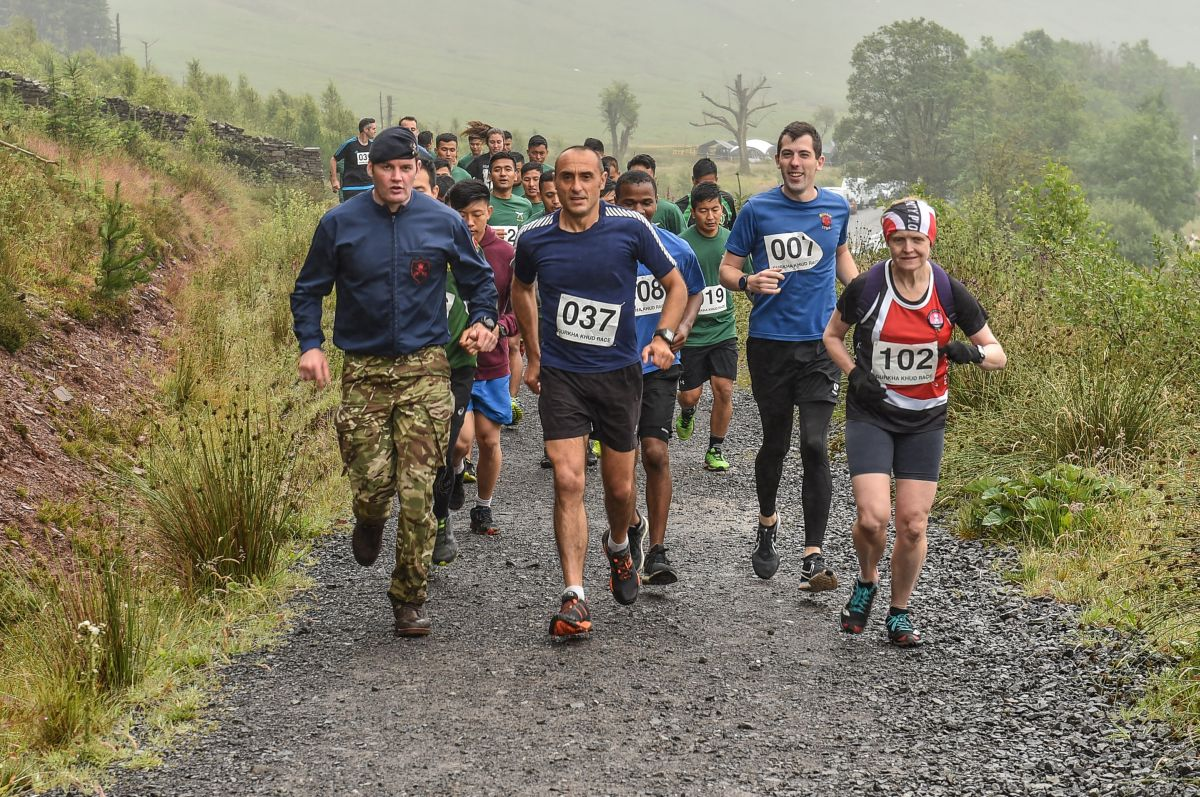 Gurkha Khud Race 2019, Infantry Battle School
