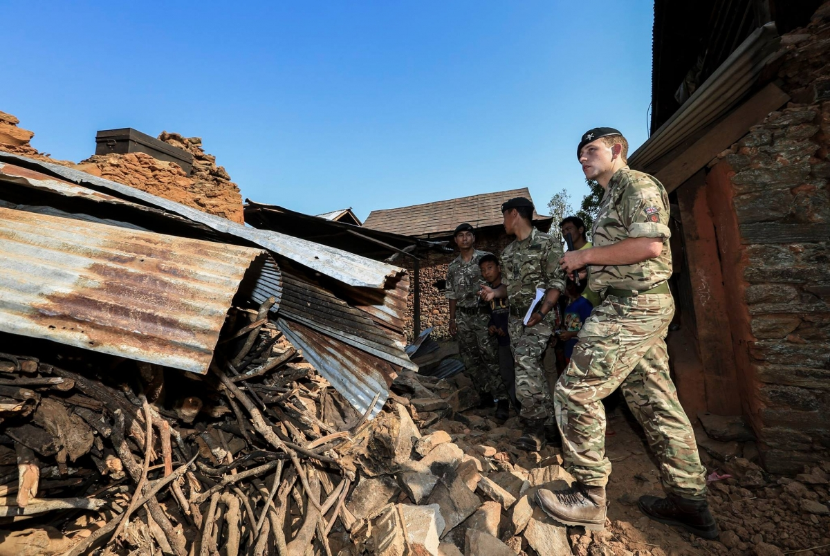 Support Earthquake Relief In Nepal >> Brigade Of Gurkhas Support Nepal Earthquake Relief Efforts Welcome